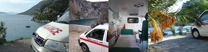 Sanitetski prijevoz Premuzic - Hrvatska