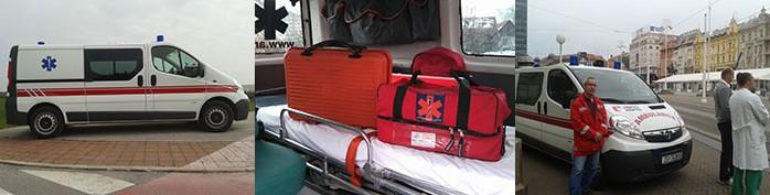 Sanitetski prijevoz Premuzic